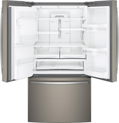 Ge Gfe28gmkes 36 Inch Slate Series Slate French Door Refrigerator