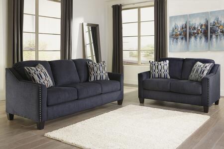 Milo Italia MI8056SLMBLU Madden Living Room Sets