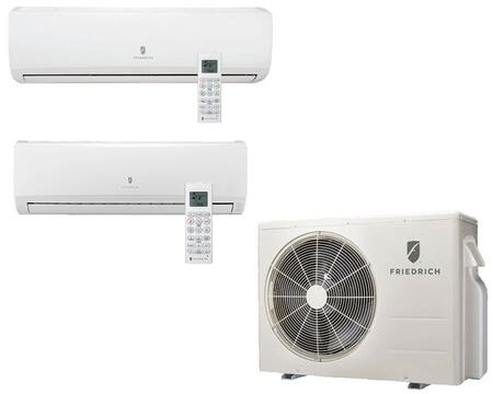 Entire Muti-Zone Ductless Split System with Remote Controls