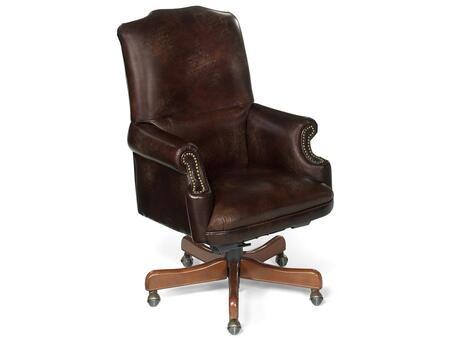 Appomattox Campaign Chair Brown Executive Swivel Tilt Chair