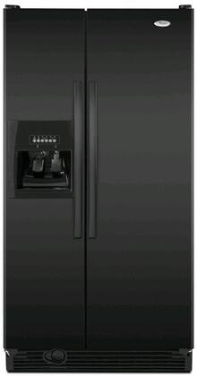 Whirlpool ED2DHEXWB  Side by Side Refrigerator with 21.7 cu. ft. Capacity in Black