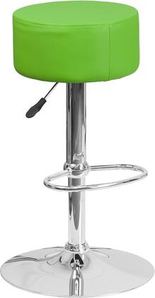 Flash Furniture CH82056GRNGG Residential Vinyl Upholstered Bar Stool