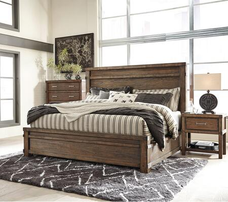 Milo Italia BR6852PCKP2DNKIT1 Berger King Bedroom Sets