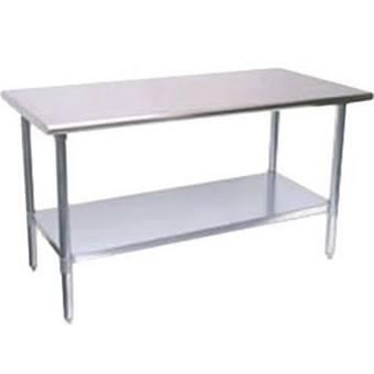 "Turbo Air T X 30"" X 34"" All Stainless Steel Work Table"