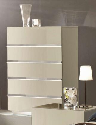 VIG Furniture VGACLUXORCHBGE Modrest Luxor Series Veneers Chest