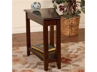 Sunny Designs 2216CA Cappuccino Series Traditional  End Table