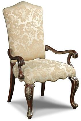 Hooker Furniture 300-35008 Grand Palais Series Traditional-Style Dining Room Lillian Tusk Chair