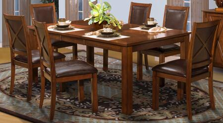 New Classic Home Furnishings 4011610CCC Aspen Dining Room Se