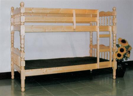 Yuan Tai 9076-O  Twin Size Bunk Bed