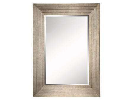 Stein World 12377  Rectangular Portrait Wall Mirror with Wood Frame |Appliances Connection