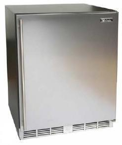 Perlick HC24RB1RDontUse Commercial Series Compact Refrigerator with 4.9 cu. ft. Capacity in Stainless Steel