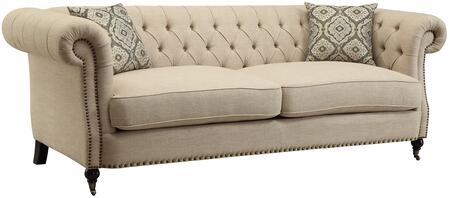 Coaster 505821 Trivellato Series Stationary Fabric Sofa