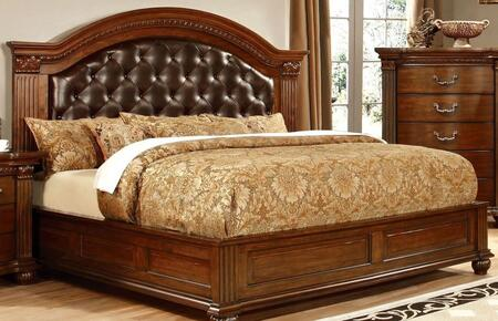 Furniture of America CM7735QBED Grandom Series  Queen Size Bed
