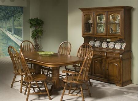 Intercon Furniture COTAI42963050BRUC Classic Oak Dining Room