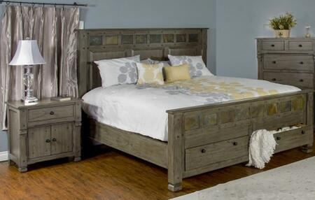 Sunny Designs 2322CGKBBEDROOMSET Scottsdale King Bedroom Set