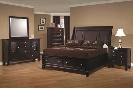 Coaster 201990QSET Sandy Beach Queen Bedroom Sets