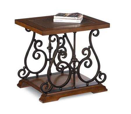 Lane Furniture 1202407 Andante II Series Traditional Rectangular End Table