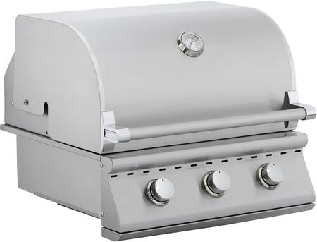 OCI OCI Pro Performance Series Grill with x Burners, 14000 BTU per Burner, Professional Thermostat, Drip Tray System and Heat Separators, in Stainless Steel: Liquid Propane