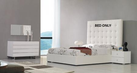 VIG Furniture VGJYLYRICAWHTSEK Modrest Lyrica Series  E King Size Storage Bed