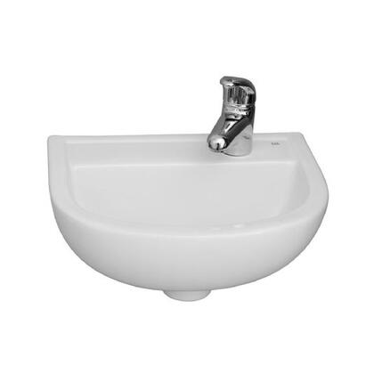 Barclay 4531WH White Sink