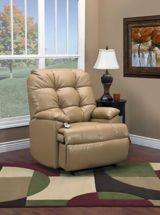 MedLift 56001BLBI Contemporary Wood Frame  Recliners
