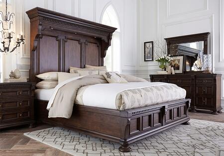 Broyhill 4912KMBNDM Lyla King Bedroom Sets