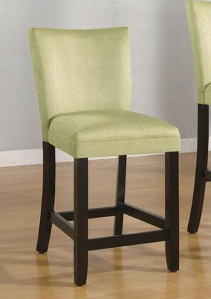 Coaster 100589GRN Bloomfield Series Residential Fabric Upholstered Bar Stool