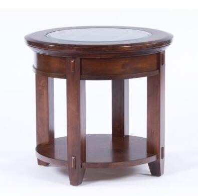 Broyhill 4986000 Vantana Series Traditional Round End Table