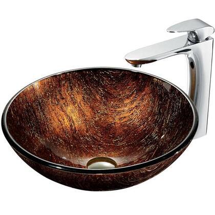 Vigo VGT191 Chrome Bath Sink
