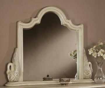 Yuan Tai AV3136M Avignon Series Arched Portrait Dresser Mirror