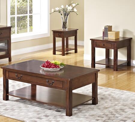 New Classic Home Furnishings 30706CEE Corsica Living Room Ta