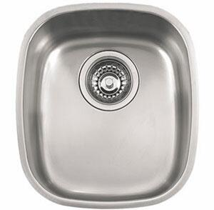 Franke CPX11 Compact Series Undermount Single Bowl Sink in Stainless Steel