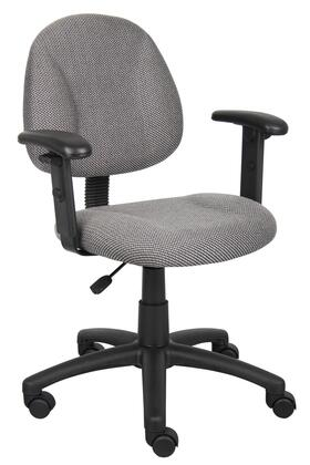 "Boss B316GY 25"" Adjustable Contemporary Office Chair"