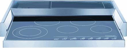 Kuppersbusch TKGC9072EUL  Electric Cooktop, in Stainless Steel