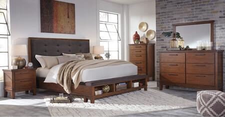 Milo Italia BR6604PCKP6DDLM2DNKIT1 Holloway King Bedroom Set