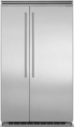 "Marvel MP48SS2Nx 48"" Professional Side-by-Side Refrigerator with 29.05 cu. ft. Capacity, Dynamic Cooling Technology, Digital Controls, Moisture Control Evaporator and Anti-Clog Condenser, in"