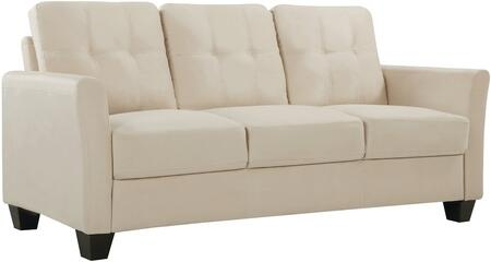 Glory Furniture G568S  Stationary Suede Sofa
