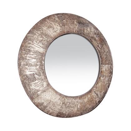 Sterling 531160M Birch Bark Series Round Both Wall Mirror