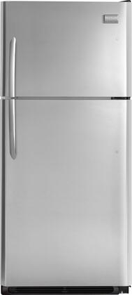 Frigidaire FGHT1846PF Gallery Series Freestanding Top Freezer Refrigerator with 18.3 cu. ft. Total Capacity 4 Glass Shelves 4.1 cu. ft. Freezer Capacity
