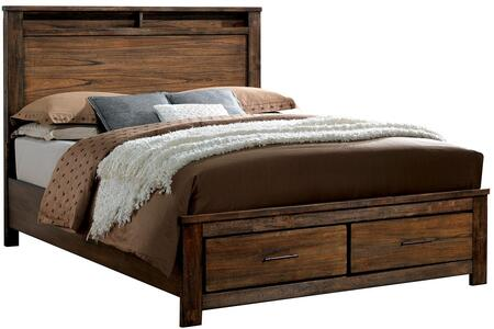 Furniture of America CM7072CKBED Elkton Series  California King Size Bed