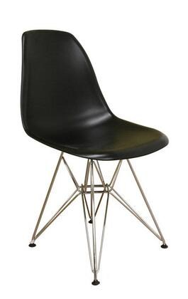 Wholesale Interiors DC-231- Plastic Side Chair