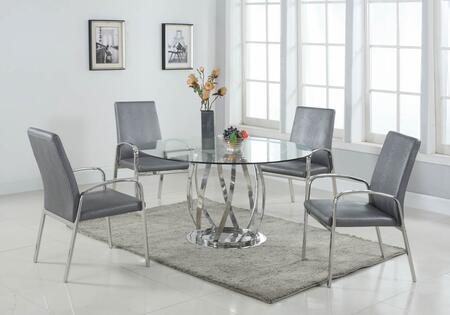 Chintaly JUDITH5PCSET Judith Dining Room Sets