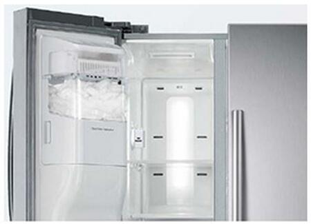 Samsung Appliance Rs25h5121 36 Quot Side By Side Refrigerator