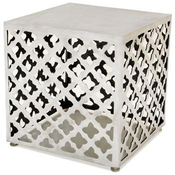 Allan Copley Designs 2090802 Contemporary Square End Table