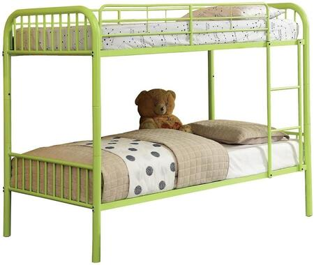 Furniture of America CMBK1035AG Rainbow Series  Twin Size Bunk Bed
