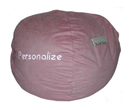 Fun Furnishings 3023XP Micro Suede Small Beanbag in X - Personalized
