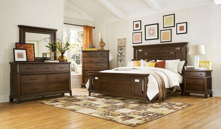 Broyhill 4364KPANELNDM Estes Park King Bedroom Sets
