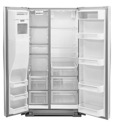 Whirlpool Wrs950siah 30 Cu Ft Side By Side Refrigerator