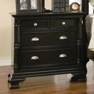 Yuan Tai SR8203N St. Regis Series Rectangular Wood Night Stand