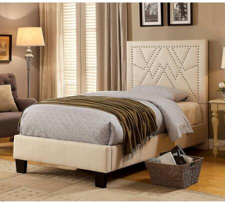 Furniture of America CM7433BGTBED Mirianne Series  Twin Size Platform Bed